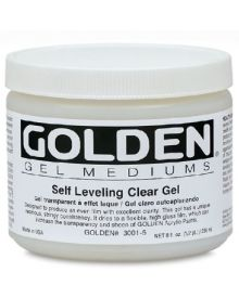 Golden Self Leveling Clear Gel Medium - Gloss 8oz - 237ml