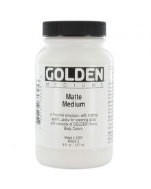 Golden Matte Medium - 8 oz
