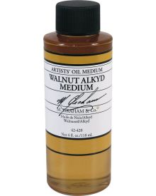M Graham Walnut Alkyd Oil Medium - 4 oz.