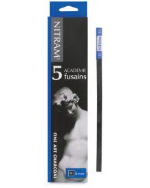 Nitram H Charcoal (Hard) - 5mm