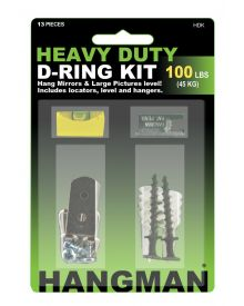 Hangman Heavy Duty D-Ring Kit