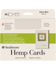 "Hemp Blank Greeting Cards, 10 Pack - 5"" x 7 """