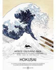 HOKUSAI: Artists' Colouring Books - Paperback