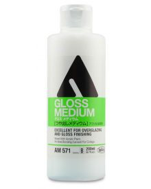 Holbein Fluid Acrylic Gloss Medium 200 ml