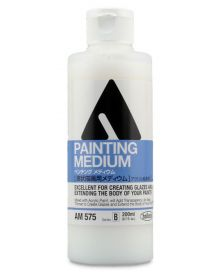 Holbein Fluid Acrylic Painting Medium 200ml