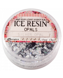ICE Resin Opals, Silver Opal
