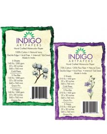 Indigo Artpapers Handmade Watercolour Paper