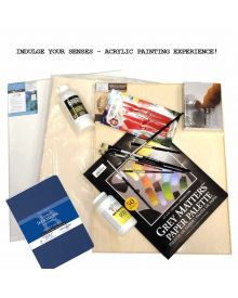 INDULGE YOUR SENSES! - ACRYLIC PAINTING EXPERIENCE KIT