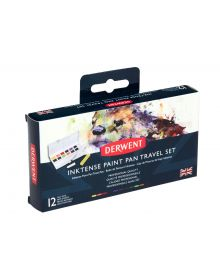 Derwent Inktense Paint 12 Pan Travel Set 01