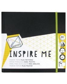 Derwent Graphik Inspire Me Book - Medium 7.9 x 7.9 inches