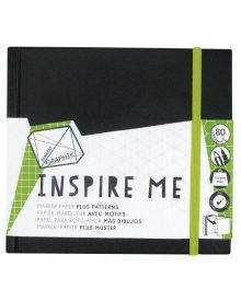 Derwent Graphik Inspire Me Book - Small 5.5 x 5.5 inches