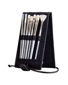 Jack Richeson Plein Air 7pc Travel Oil Brush Set
