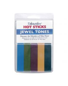 Enkaustikos Jewel Tones Hot Sticks Set of 5
