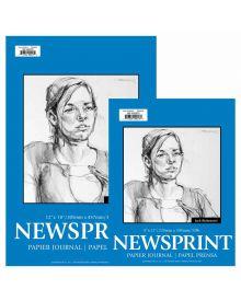 Jack Richeson Newsprint Paper Pads, 50-Sheet Rough
