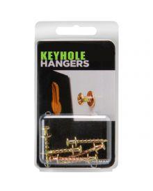 Hangman Keyhold Hangers 6 Pack