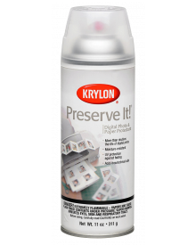 Krylon Matte Preserve It Paper Protectant, 11 oz