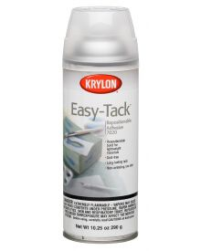 Krylon Easy-Tack Repositionable Adhesive Spray, 10.25 oz