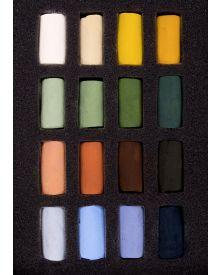 Unison Pastel 16 Half Stick Landscape Set