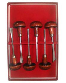 Linoleum Tool Set (6pc) Linocut Tool Kit L331-0