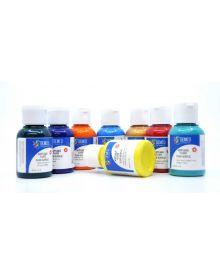 Demco Pro Fluid Acrylic Paint Assortment - 120ml/4oz