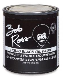 Bob Ross Liquid Black Oil Paint - 250ml