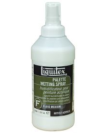 Liquitex Professional Palette Wetting Spray Fluid Medium - 8 oz (237ml) Bottle