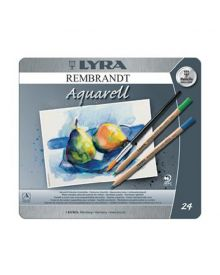 Lyra Rembrandt Aquarell - 24 Pencils