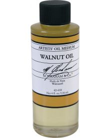 M Graham Walnut Oil Medium - 4 oz.