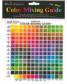 Magic Palette Artists Color Selector and Mixing Guide