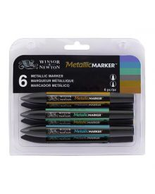 Winsor Newton ProMarker - Metallic Set of 6