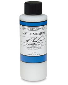 M Graham Artists' Acrylic Matte Medium - 4 oz