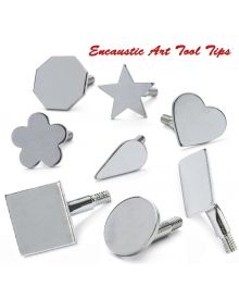 Encaustic Art Hot Wax Painting Tool Assorted Tips for Stylus Pro