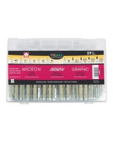 Micron Pigma Brush,Graphic & Micron Superpack