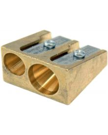 Mobius + Ruppert (M+R) Brass Sharpener 603 - Double Wedge