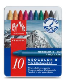 Caran d'Ache Neocolor II Water-Soluble Pastel Set of 10