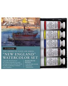M. Graham 5-Colour New England Watercolour Set
