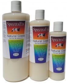 Spectra Fix Natural Glass Varnish and Painting Medium