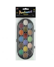 Niji Pearlescent Watercolour Set Of 16 Assorted Colours