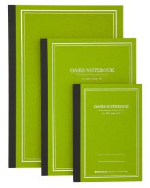 Itoya Profolio Oasis Notebooks - Avocado (S, M, L)