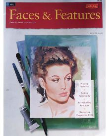 Faces & Features: Oil & Acrylic: Learn to paint step by step (How to Draw & Paint) - Paperback