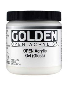 Golden Open Acrylic Gel Matte - 8oz.