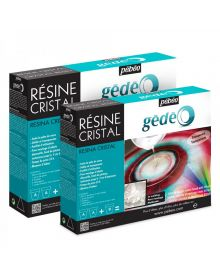 Pébéo Gédéo Crystal Resin - 150 ml, 300 ml, 750 ml