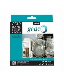 Gédéo Gilding Gold Leaves - Silver 25 Sheets