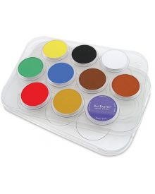 Pan Pastel Plastic Palette Tray 11.25-inch x 8-inch-10 Cavity