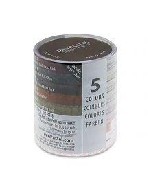 Pan Pastel 5 Colour Extra Dark Earth Shade Set