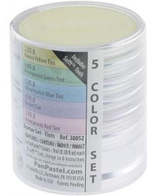 Pan Pastel 5 Tints Colours Starter Set