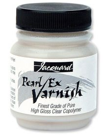 Jacquard Pearl Ex Varnish, 2.25 oz.