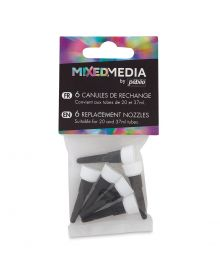 Pebeo Mixed Media Replacement Nozzles, 6/pk