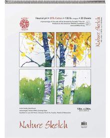 Pentallic Nature Sketch Book 18 x 24 inch