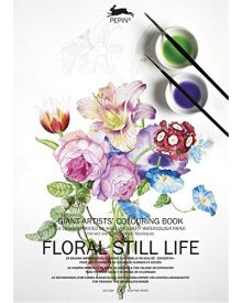 PEPIN GIANT Colouring Books - Floral Still Life